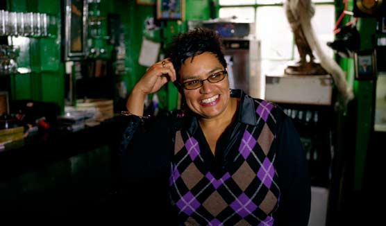 Jackie Kay photograph by Mary MacCartney