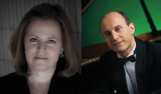 Pianists Kathryn Stott and Nelson Goerner image