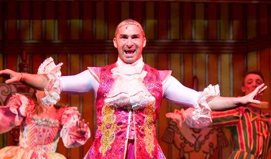 louis spence in Cinderella