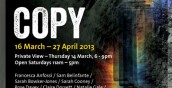 Copy exhibition poster