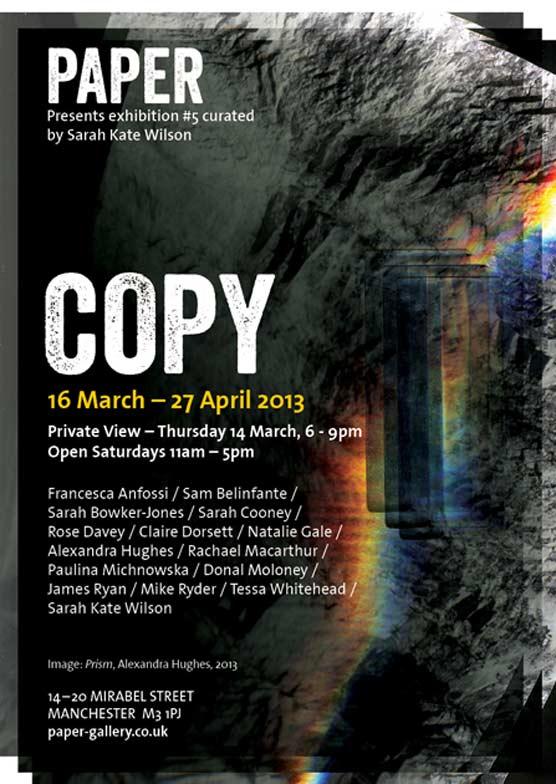 Copy exhibition poster