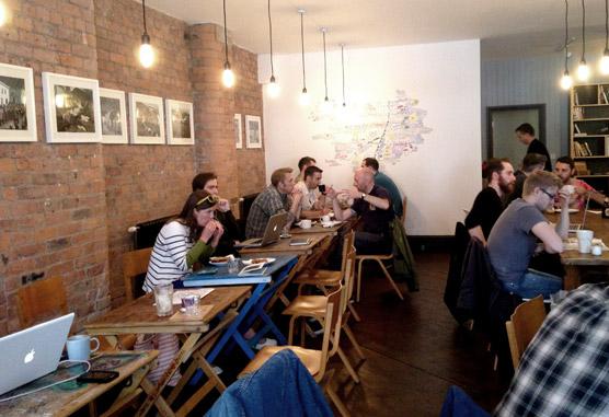 Takk Cafe Nq Northern Quarter Manchester