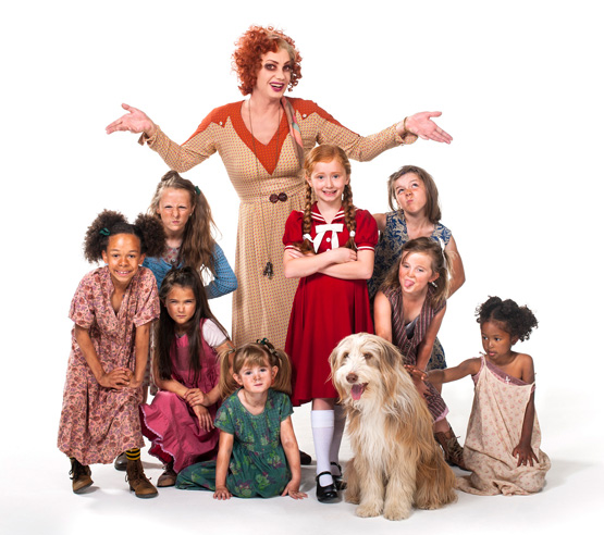 Annie At The Opera House Review