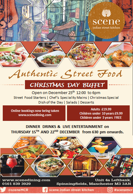 Authentic Street Food Buffet And Live Entertainment On