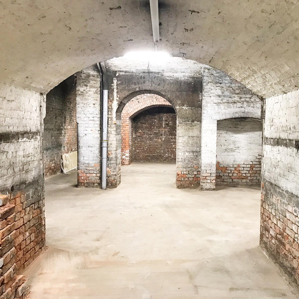 Derelict Victorian Basement Event Space