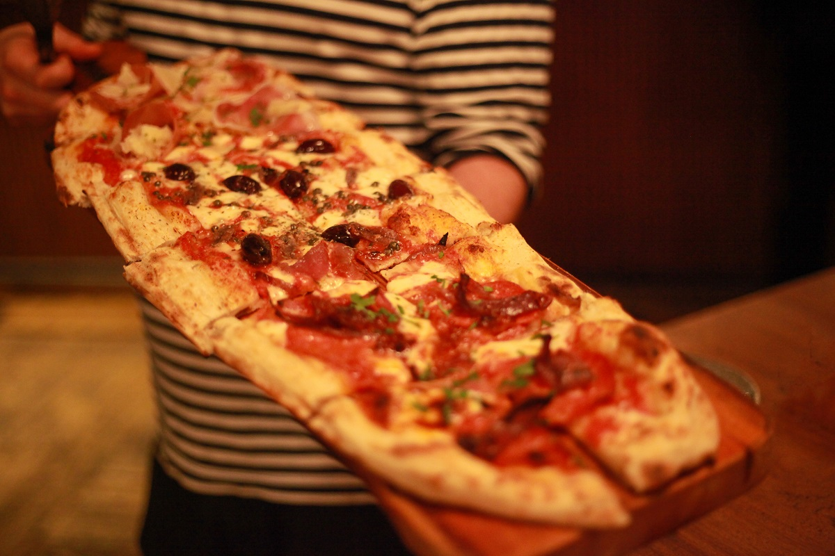 The Non Stop All You Can Eat Pizza Giro At Electrik