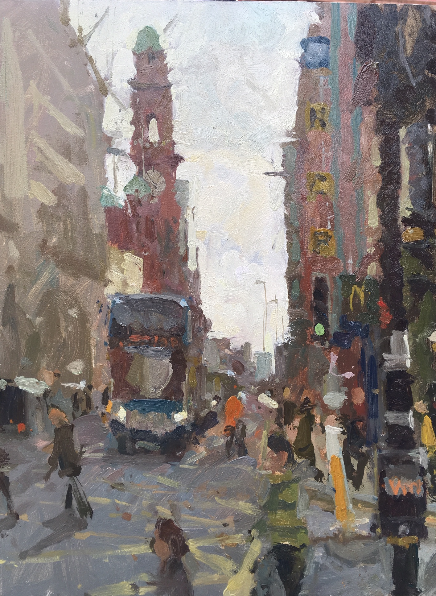 Meet The Plein Air Artist You Ll See On The Streets Of