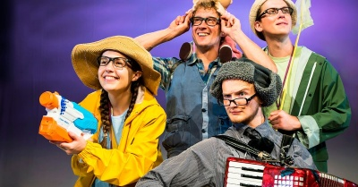Review: We're Going On A Bear Hunt Live at The Lowry