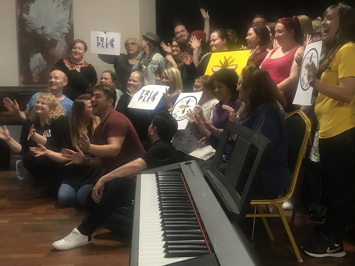Manchester's Mental Health Choir talk singing, science & the