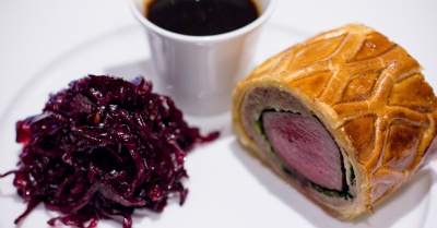 Beef, Duck, Chicken & Venison Wellington – Every Wednesday at The River Restaurant & Bar