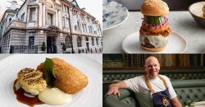 Tom Kerridge's NEW restaurant The Bull & Bear is now OPEN