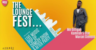 The LoungeFest – Pop Up & The Comedy Show with Mo Gilligan