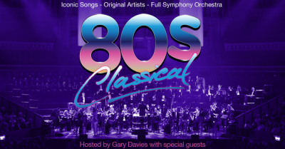 Go West, Jimmy Somerville, Belinda Carlisle & more… It's the 80s with an Orchestra!