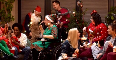 How a Tweet spawned a group of disabled actors to create their own Christmas Ad…