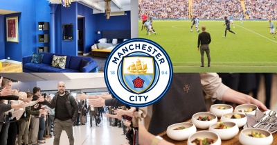 The Man City Overnight Hospitality Package with VIP seating & unlimited food & drinks!