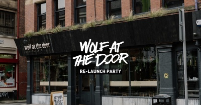 FREE BOOZE, a new food concept & Konny Kon at Wolf at the Door's RE-LAUNCH Party