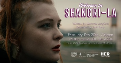Welcome to Shangri-La at Hope Mill Theatre