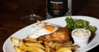 The Weekly Drool #26 – Manchester Gin Battered Fish & Chips at Randall & Aubin