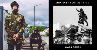 Manchester MC Strategy teams up with Footsie & Cimm on 'Black Boxes'
