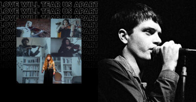 A Collaboration of Mancheser Artists release cover of Love Will Tear Us Apart…