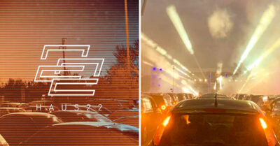 Manchester's First-Ever Socially Distanced Techno Party in a Car Park