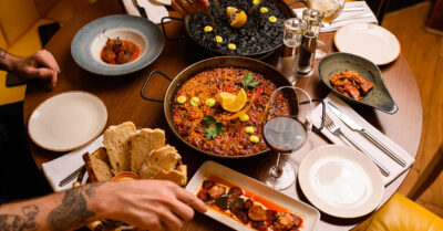 Paella & a Bottle of Wine for 2 for £30 at La Bandera