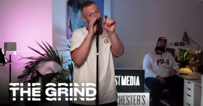 Interview with Manchester Grime Legend XP BURSTGANG + Live Performance & Full Album Stream