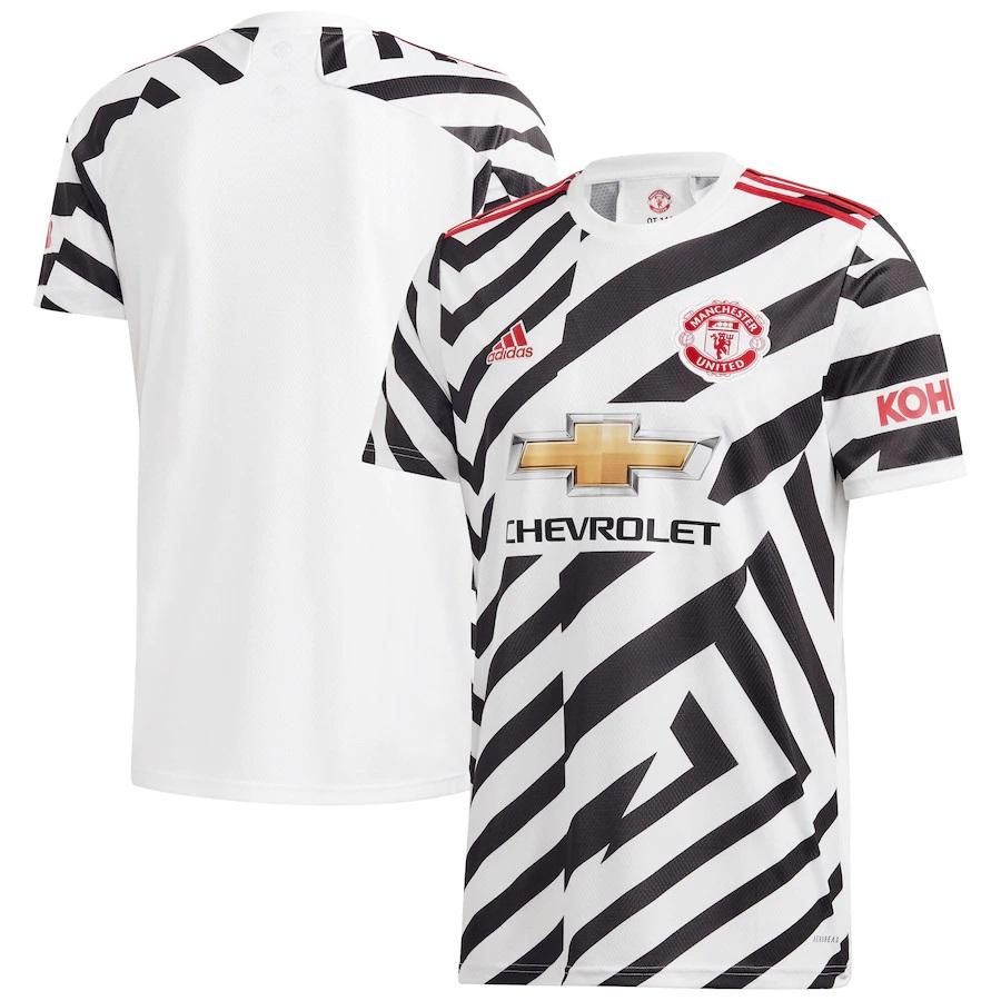 Man Utd Release New Third Kit Inspired By Manchester S Stripes