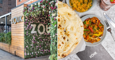 FREE poppadoms and 3 courses for £19.95 at Zouk!