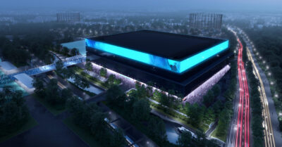 The UK's largest entertainment arena is being developed in Manchester