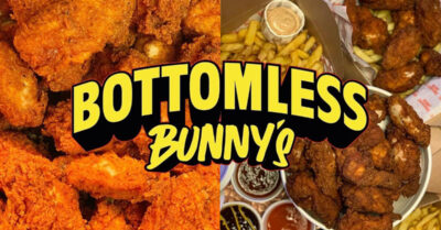 Bottomless Bunny Jacksons Wings, Fries & Booze! EVERY DAY!