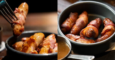 The VERY substantial Pigs in Blankets ARE BACK at The Bay Horse Tavern!