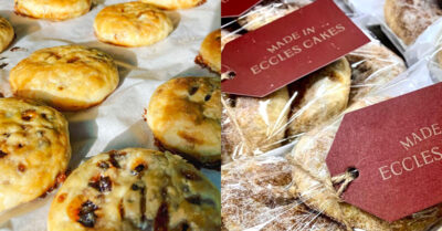 The Artisan Bakery with the only Eccles Cakes actually made in Eccles!