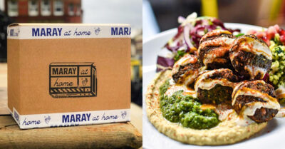NOW DELIVERING: Maray's Middle Eastern inspired food, cocktails and wine!