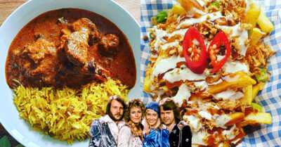 NOW DELIVERING: ABBA & Curry with 'Tikka Chance on Me'