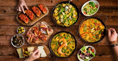 Tuck into Cheese, Tapas & Paella with Evuna's NEW 'heat-at-home' Gourmet Spanish Feast