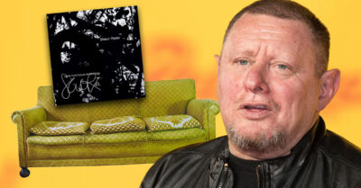 Shaun Ryder announces NEW solo album – that he found down the back of his sofa!