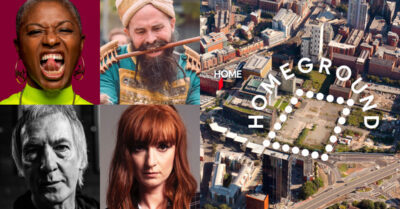 The Line-up of FREE Events at Manchester's NEW Outdoor Festival from HOME