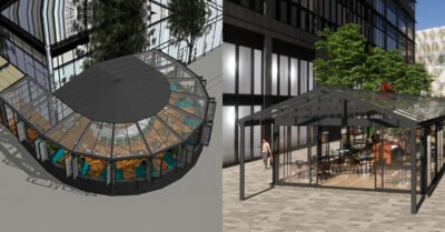 COMING SOON: Spinningfields' HUGE new Conservatory & Greenhouses