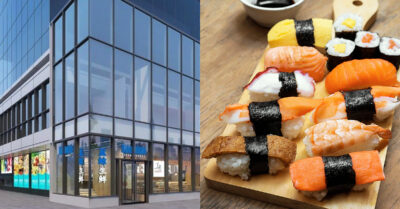 """NEW OPENING: Huge """"Oriental Grocery Experience"""" & Sushi Restaurant in Chinatown"""
