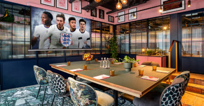 WIN a Private Viewing Room for 12 People to Watch the EUROs Final this Sunday!