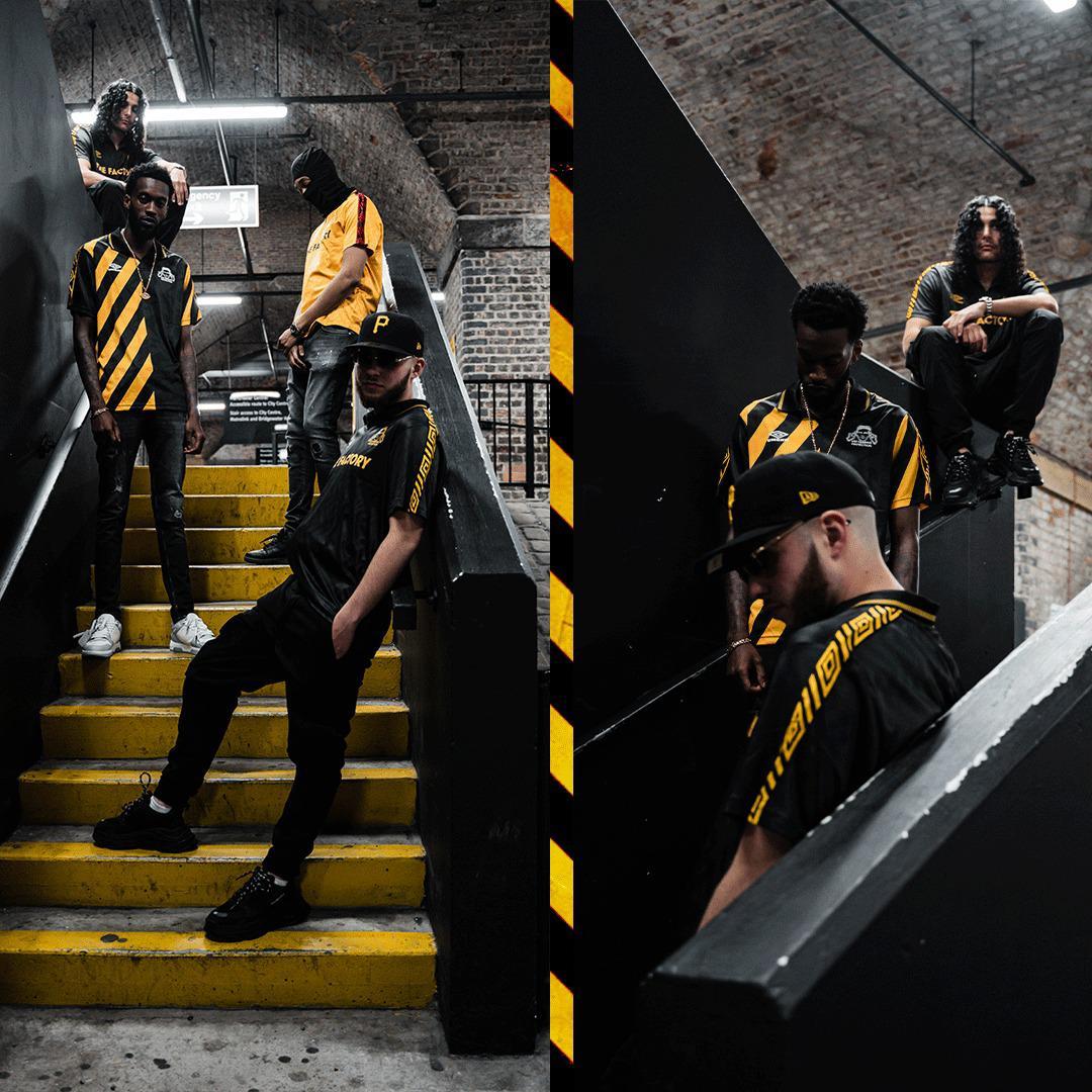 Factory Records x Umbro