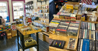 This Tiny Space in Afflecks is The Last Casette Tape Shop in the UK