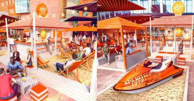 An Italian Pop-Up Beach Bar is coming to Spinningfields this Summer