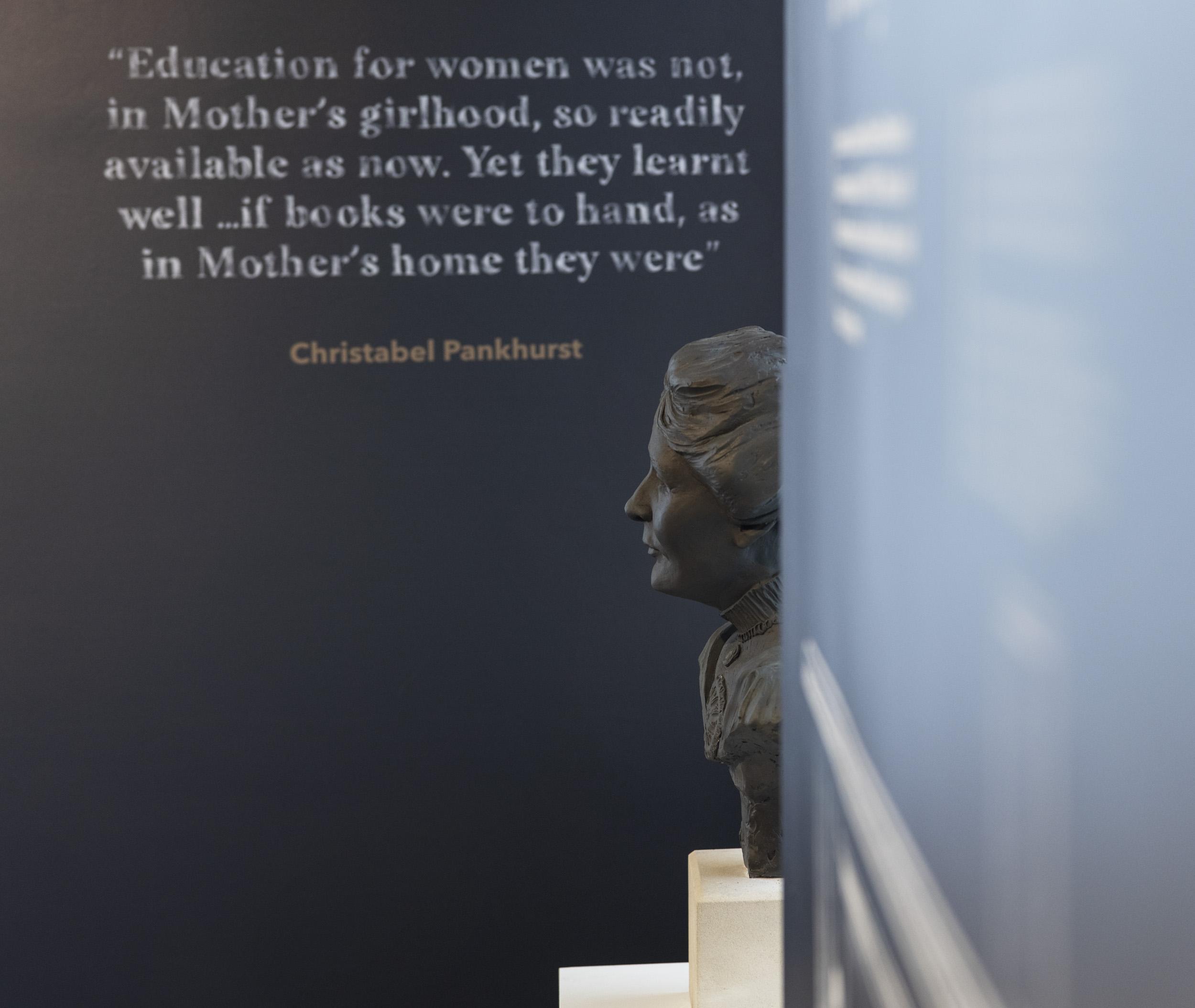 Christabel Pankhurst quote Pankhurst Centre