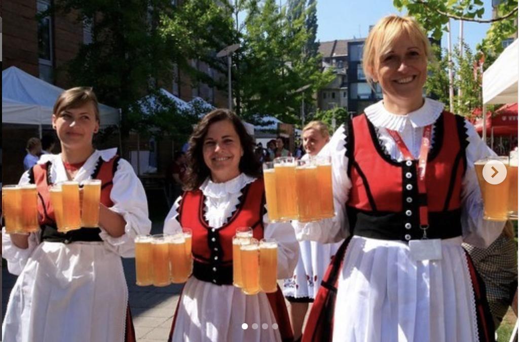 Transylvanian beer at Góbéfest