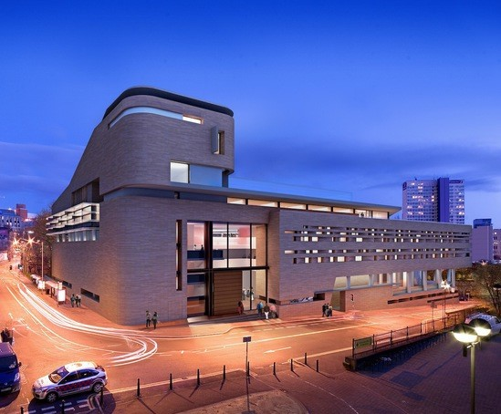 The Stoller Hall Manchester exterior
