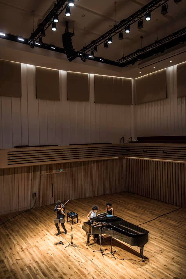 The Stoller Hall piano recital